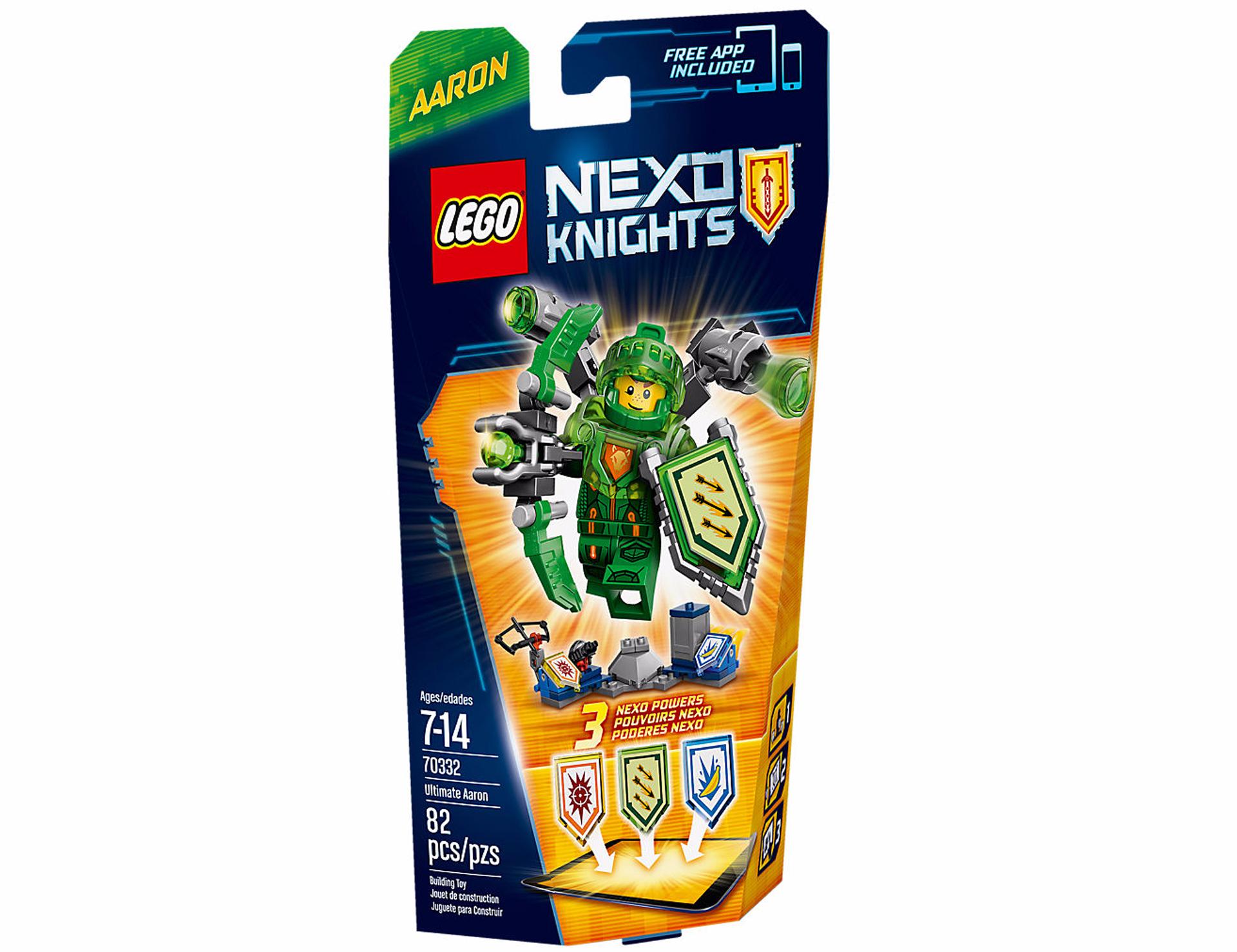 L'ultime Knights Nexo Aaron Lego Chevalier rdoBeCxW