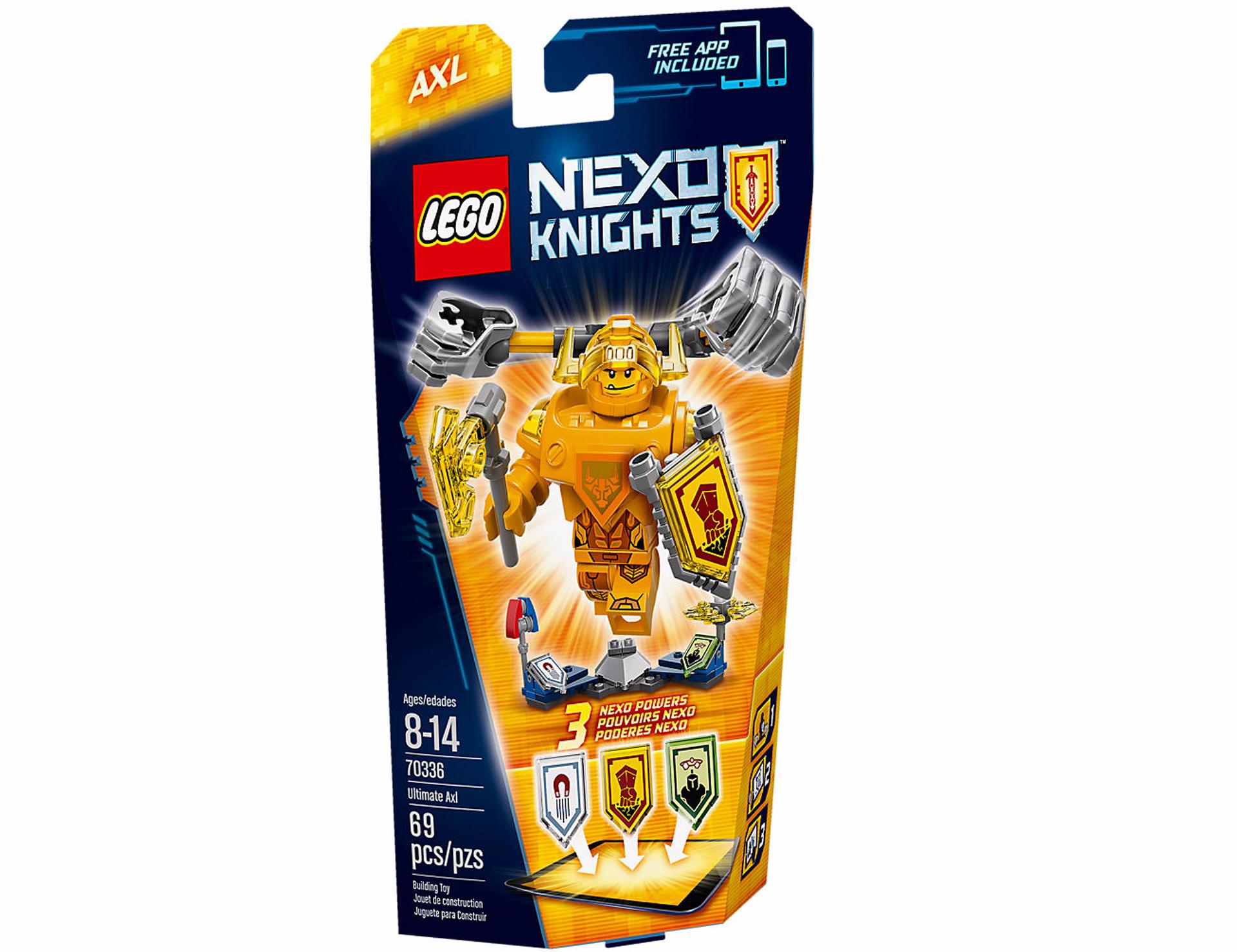 Lego Axl Chevalier Nexo L'ultime Knight zMGpqSUV