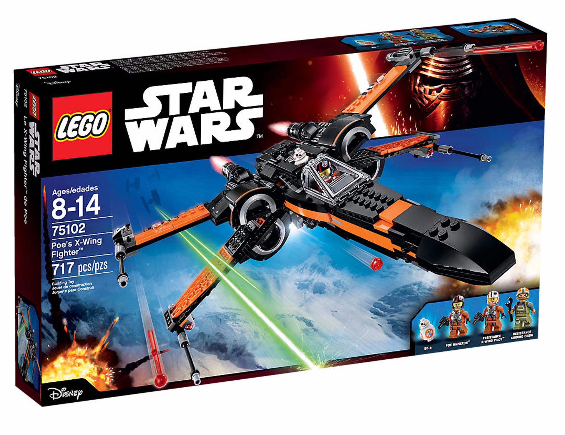Wing Lego Poe's X Star Wars Fighter kOPiXZu