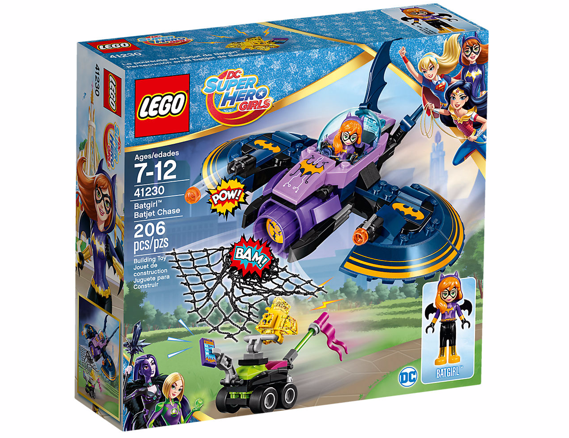 Lego Dc De Girls Poursuite Batgirl Hero Super La Batjet En hQsrCdt